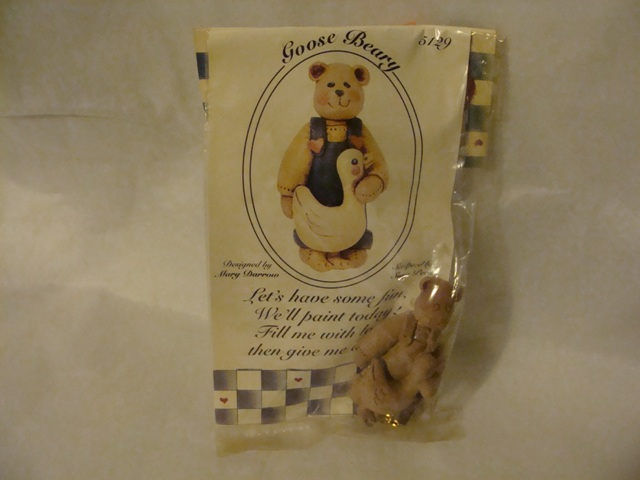 Bear and Goose pin